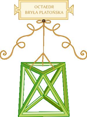 Oktaedr - Leonardo da Vinci