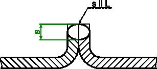 Przykład wymiarowania spoiny brzegowej
