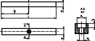 Rysunek wpustu typu <b>D</b>