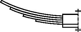 Rysunek uproszczony sprężyny wielopłytkowej